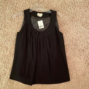 NWT Kate Spade Black Matinee Top Sz Small